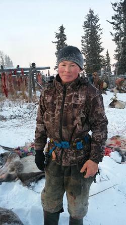 Бригадир четвёртой бригады Вячеслав Лонгортов в оленеводстве уже 12 лет