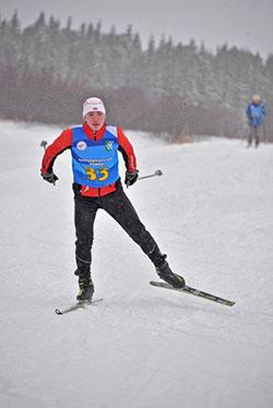 Владимир Рохтымов на дистанции 5 км в командном зачёте занял 2 место