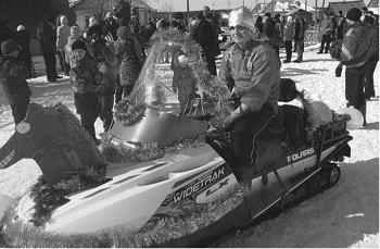 Игорь Филиппов -победитель конкурса со своим «конем» Полярисом