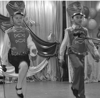 Кристина Хозяинова и Максим Хасанов удостоены главвного приза смотра-конкурса  приза главы МО Мужевское